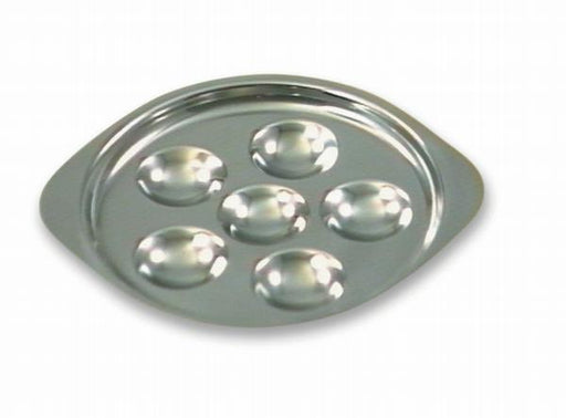 Escargot plate - Pack of 5 - 6 or 12 Inch Stainless Steel