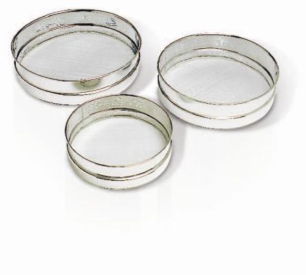 Sieves - metal mesh - set of 3  (Matfer Bourgeat)