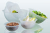 HEMISPHERICAL MIXING BOWLS: Diameter 7 1/2 in. , 1 liter