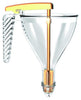 1.5 Pint Polycarbonate Automatic Funnel : 5.51 Dia. x 10.63 inch