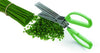 Stainless Steel Herb Scissors - 5 Blade: 7.87 H x 2.95 inch
