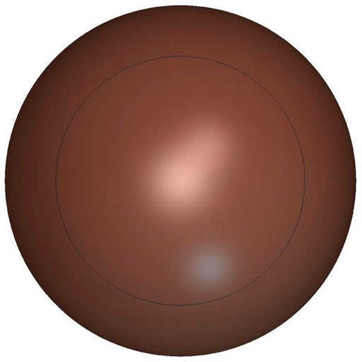 HALF SPHERE CHOCOLATE MOLD - POLYCARBONATE (Matfer Bourgeat)