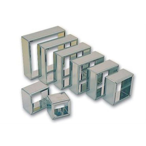 Plain square cutter set  (Matfer Bourgeat)