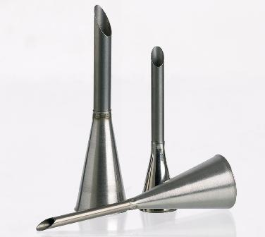 Stainless Steel Pastry Filling Tips - Set Of 3 - 4, 6, 8 Mm  (Matfer Bourgeat)