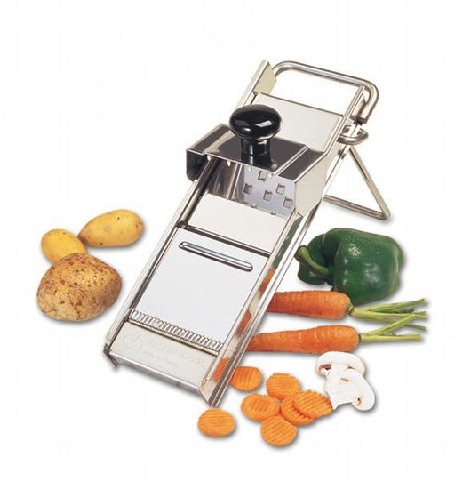 Matfer mandoline - all stainless with pusher  (Matfer Bourgeat)