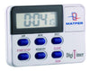 24 Hour 3 Function Digital Timer / Magnet Back & Clip: 1.97 Dia. x 2.76 inch