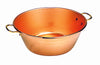 Heavy jam pan - solid copper - Bourgeat: Diameter 14 1/8 in. , height 5 1/8 in. , 8.5 quarts 1 mm thickness