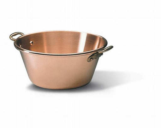 "<img src=""304042_1.jpg?v=1557246059 "" alt=""Bourgeat - Extra Heavy Jam Pan - Solid Copper  Matfer Bourgeat catalog"">"