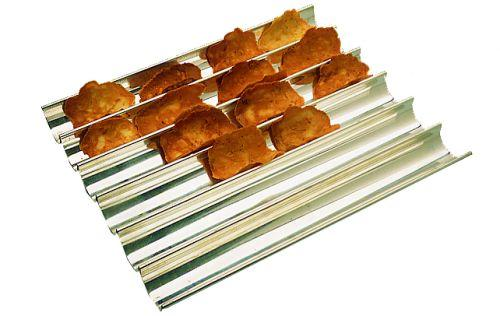 Cookies Stainless Steel Baking Sheet   (Matfer Bourgeat)