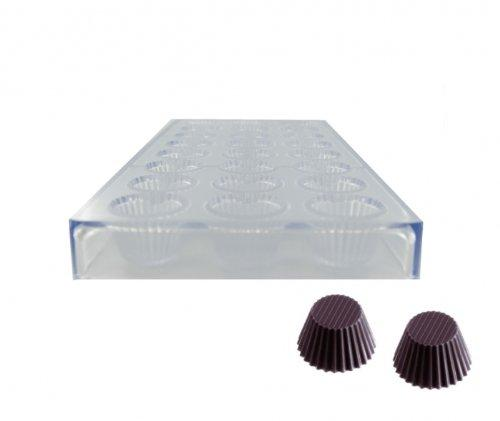 Cup Chocolate Mold - PolyCarbonate  (Matfer Bourgeat)
