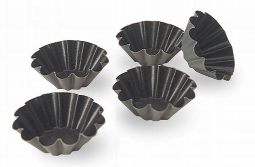 Fluted brioche nonstick mold - 10 flutes