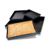 Steel Non-Stick Sponge Cake Pan: Length 15 3/4 in. width 11 7/8 in. height 1 3/8 in.