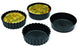 EXOGLASS INDIVIDUAL DEEP TARTLET MOLD - Pack of 12  (Matfer Bourgeat)