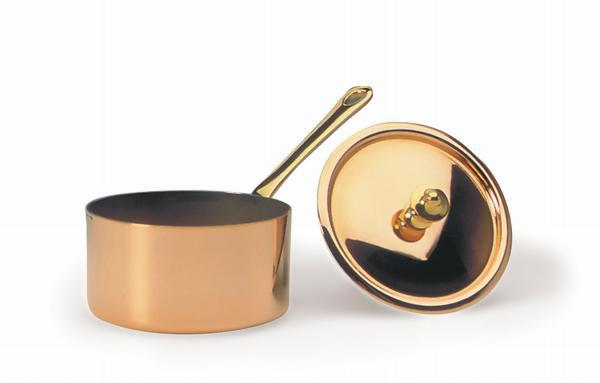"<img src=""351009-01.jpg?v=1557246483 "" alt=""Lid For Bourgeat Copper Small Sauce Pan 351009  Matfer Bourgeat catalog"">"