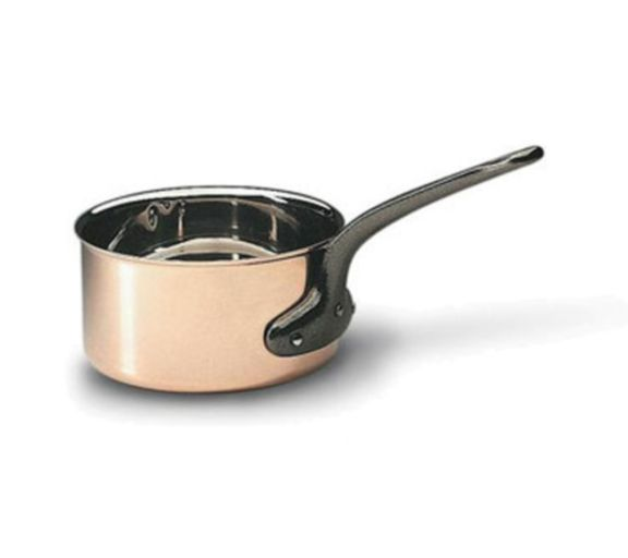 Bourgeat Copper Sauce Pans - No Lid  (Matfer Bourgeat)