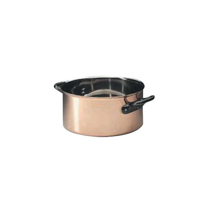BOURGEAT COPPER CASSEROLE WITHOUT LID  (Matfer Bourgeat)
