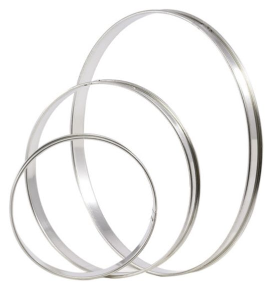 Small Flan Ring - Pack Of 6  (Matfer Bourgeat)