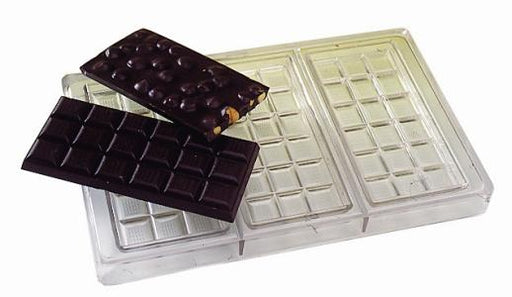 Chocolate bar sheet - three bars  (Matfer Bourgeat)