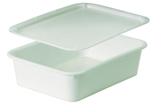 RECTANGULAR DOUGH CONTAINERS White PEHD. Heavy duty.  (Matfer Bourgeat)