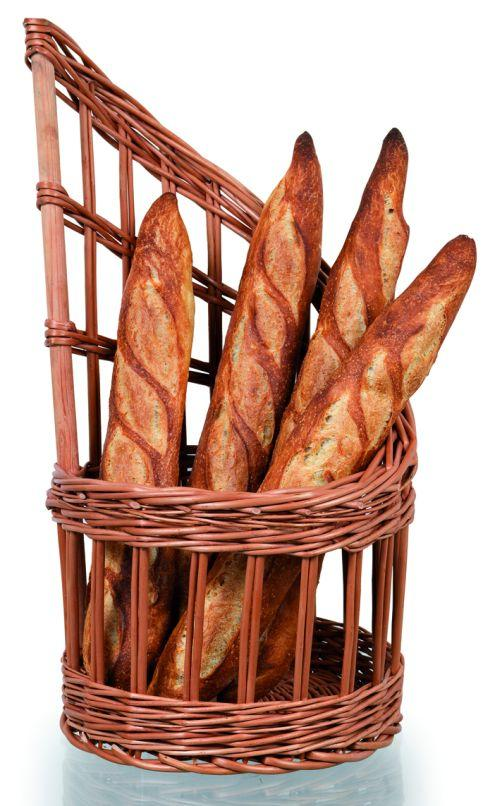 Wicker Basket For Bread   (Matfer Bourgeat)