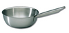 Bourgeat flared saute pan without lid: Diameter 9 1/2 in., height 3 1/8 in., 2 3/4 quarts