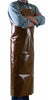 Polyurethane Chocolate Apron - Adjustable Neck Strap: 35.43 H x 45.28 inch