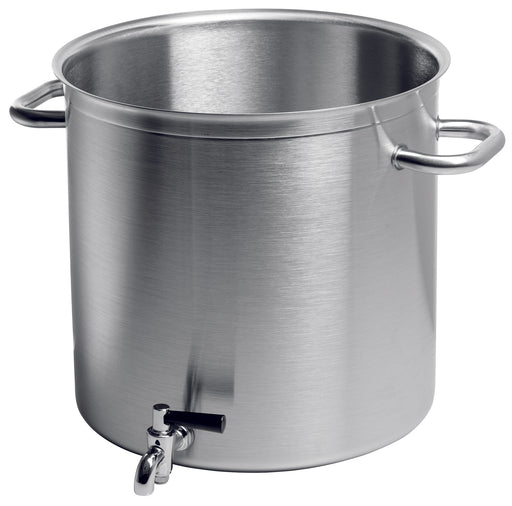 EXCELLENCE stockpot with tap WITHOUT LID  (Matfer Bourgeat)