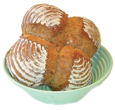 Polypropylene Aereation Bread Basket Round  (Matfer Bourgeat)