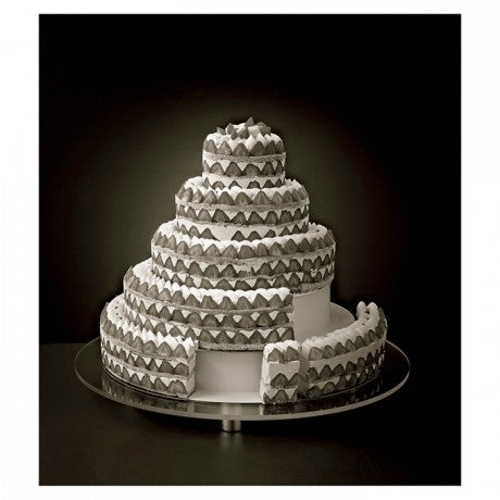 Complete French Style Wedding Cake System  - Set Of 5 Complete Kit (Matfer Bourgeat )