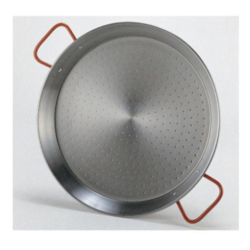Guison - Polished Steel Paella Pan / Curved Sides with two Handles (Spain)  (Matfer Bourgeat)