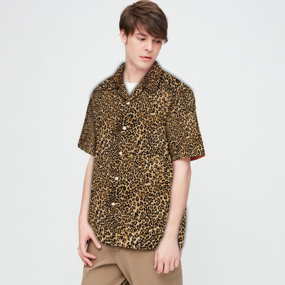 Leopard Print Hawaii Shirt
