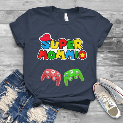 Super Mommio Video Game Classic T-shirt