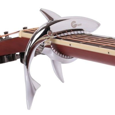 Guitar Capo Shark Shape Aluminum Alloy Tuner