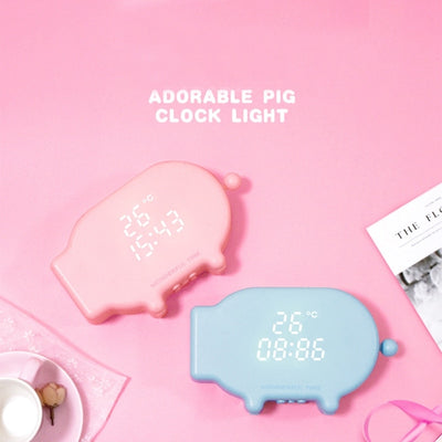 Multi-Function Pig Clock