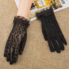 Summer Women Leopard Sunscreen Gloves
