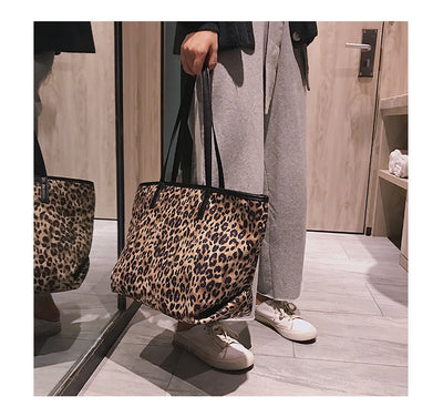 Boho Retro Leopard Bag