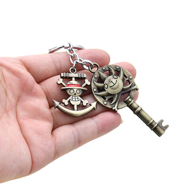 Luffy Straw Hat Keychains