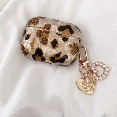Luxury Leopard Print Earphone Cover For AirPods Pro