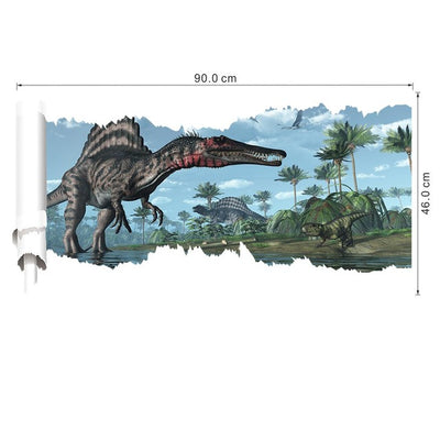 3D World Park Dinosaurs Wall Stickers
