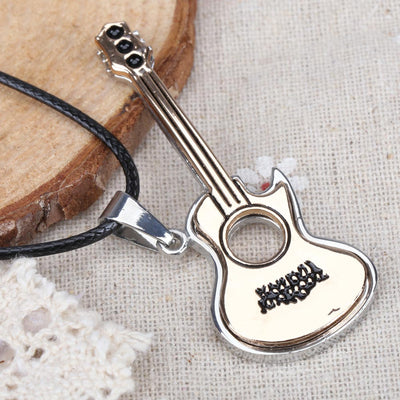 2019 New Lovely Guitar Pendant Necklace