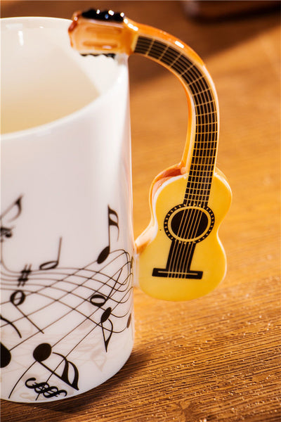 Creative Acoustic Guitar Mug