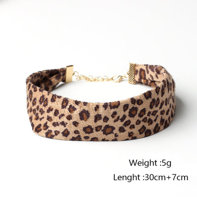 Leopard Collar Necklace