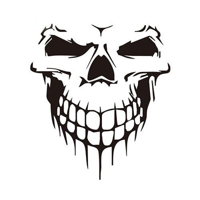 3D Skull Car Windshield Sticker