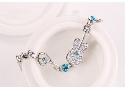 Music Note and Guitar Shaped Bracelets