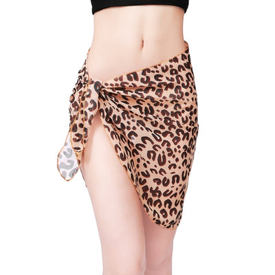 Summer Sexy Women Leopard Beach Wear