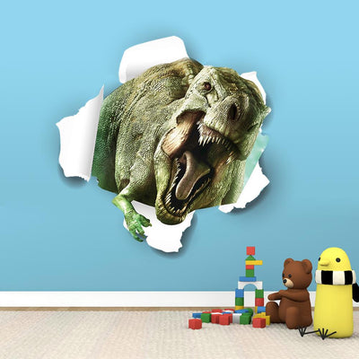 3D fantastic dinosaur Wall Stickers