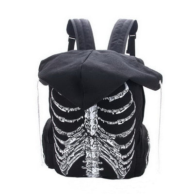 Unisex Skull Travel Bag