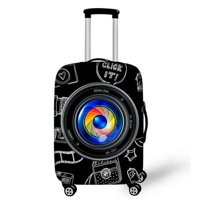 Funny Camera Luggage Cover