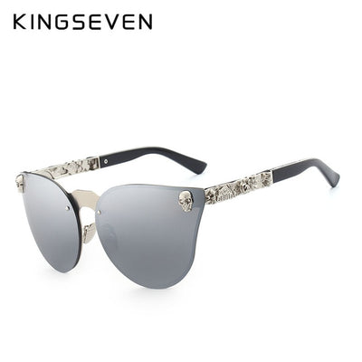 Women Luxury Skull Glasses