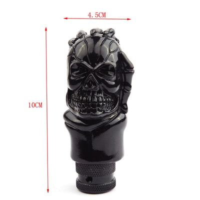 Skull Head Car Gear Shifter Knob